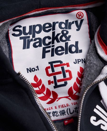 Superdry Track And Field Zip Hoodie