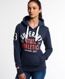 Superdry State Athletics Trackster Hoodie