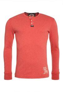 Heritage Long Sleeved Grandad Top