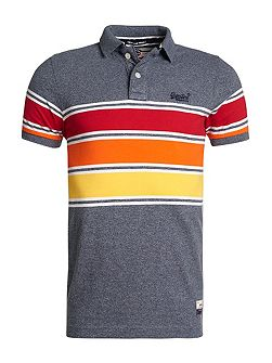 Chest band grindle polo shirt