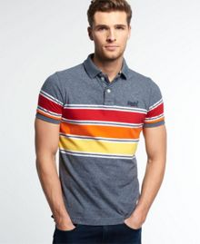 Superdry Chest band grindle polo shirt