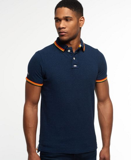 Superdry Surf Edition Pique Polo Shirt