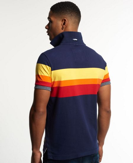 Superdry Triband Chest Stripe Polo Shirt