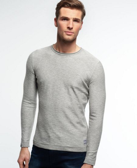 Superdry Summer lite loomed stripe knit jumper