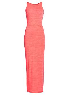 Essentials Split Maxi Dress