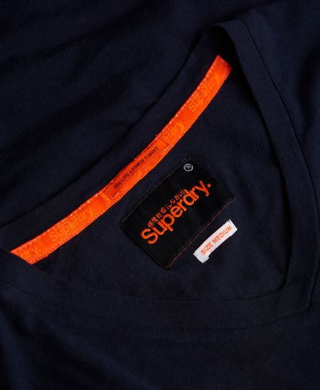 Superdry Lite Loomed Cut Curl Vee T-shirt