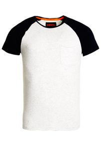 Superdry Lite Loomed Cut Curl Baseball T-shirt