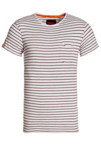 Superdry Lite loomed cut curl striped t-shirt