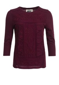 Superdry Folk Patch Top