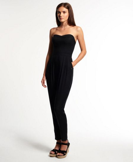 Superdry Strapless Jumpsuit