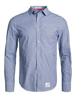 Dobbie laundered cut collar shirt