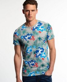 Dry hawaiian aop t-shirt