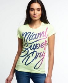 Superdry Enjoy Miami T-shirt
