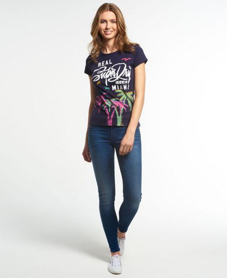 Superdry Palm Miami T-shirt