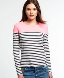 Superdry Essentials Colour Block Breton Top