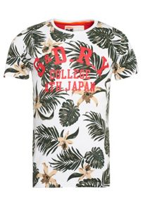 All over print hawaiian floral t-shirt