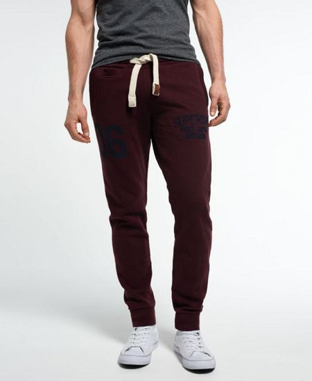Superdry Core applique joggers