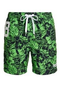 Superdry Premium print water polo shorts