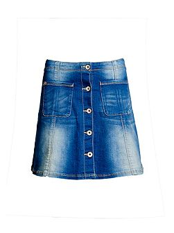 70`s Denim Skirt