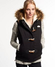 Superdry Microfibre Toggle Puffer Gilet