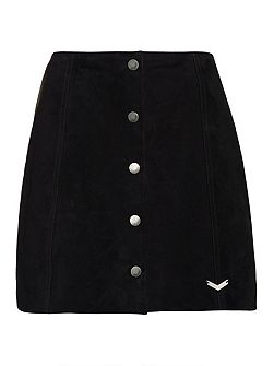 70`s Suede Skirt