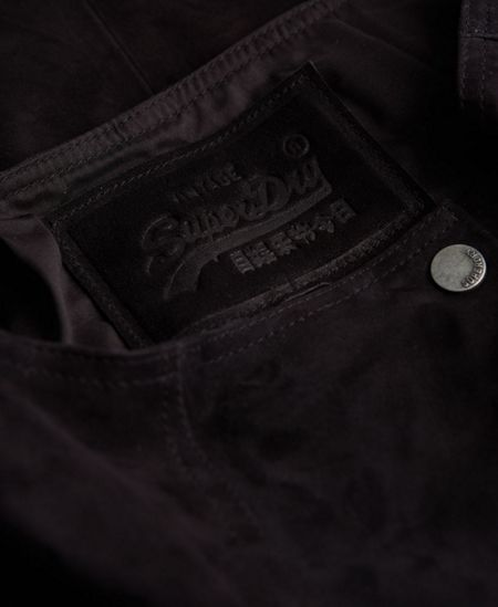 Superdry 70`s Suede Skirt