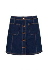 Superdry 70s Denim Skirt