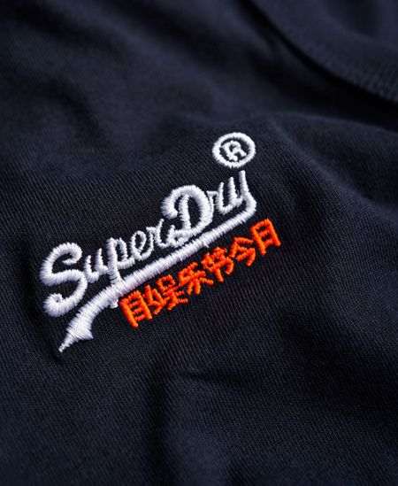 Superdry Orange label vintage embroidery vest top