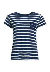 Superdry Super Sewn Stripe Pocket T-Shirt