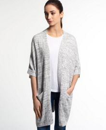 Superdry Pebble Knitted Cape