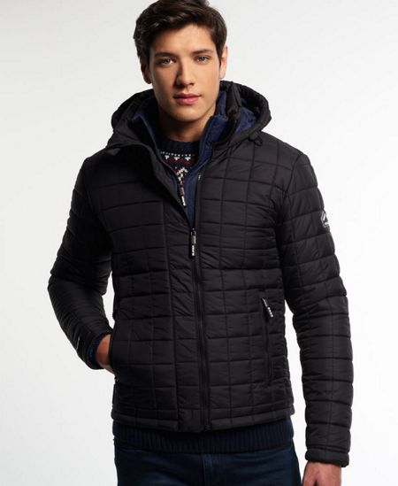 Superdry Hooded Box Quilt Fuji Jacket