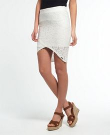 Superdry Santorini Lace Wrap Skirt