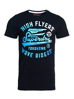 High flyers wave t-shirt