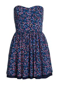 Superdry 50s Tropical Print Dress