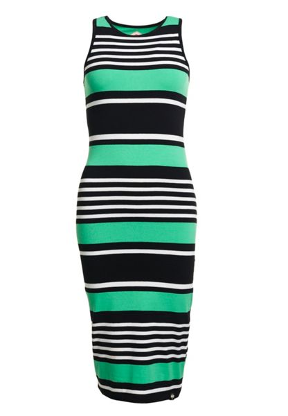 Superdry Starboard Stripe Midi Dress