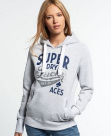 Superdry Lucky Aces Lurex Hoodie
