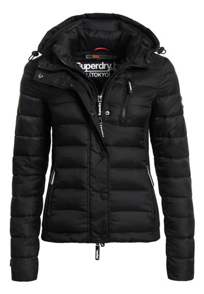 Superdry Hooded Fuji Slim Double Zip Jacket