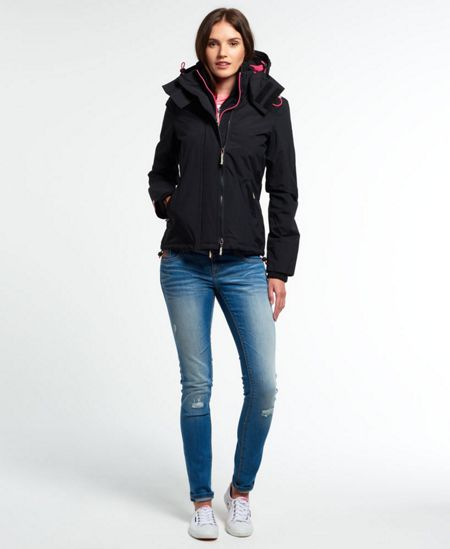 Superdry Pop Zip Hooded Windcheater Jacket