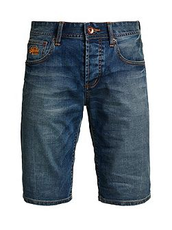 Officer Slim Denim Shorts