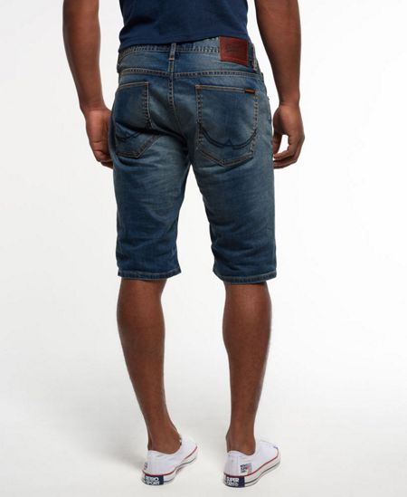 Superdry Officer Slim Denim Shorts