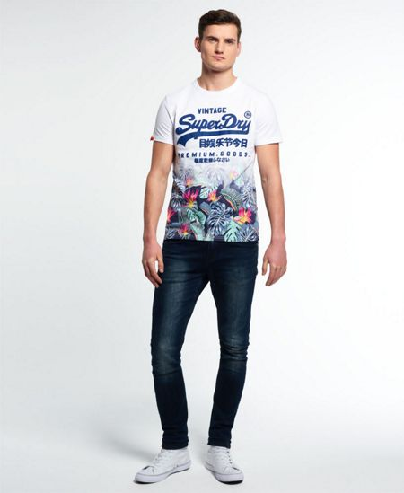 Superdry Premium Goods Tropical T-Shirt