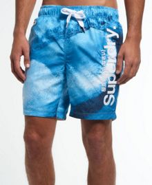 Superdry Premium print neo swim shorts