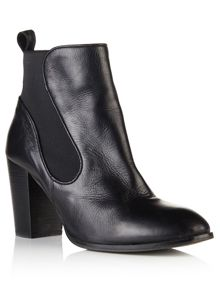 Superdry Fleur Leather Chelsea Boots
