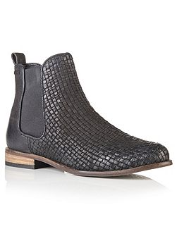 Millie Woven Chelsea Boots