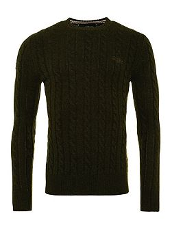 Harlo Cable Crew Neck Jumper