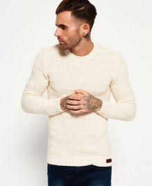 Superdry Nordic Textured Crew Jumper