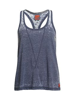Super Sewn Burnout Tee Tank Top