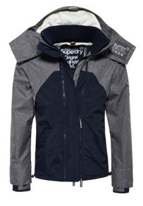 Superdry Hooded Wind Hybrid Jacket