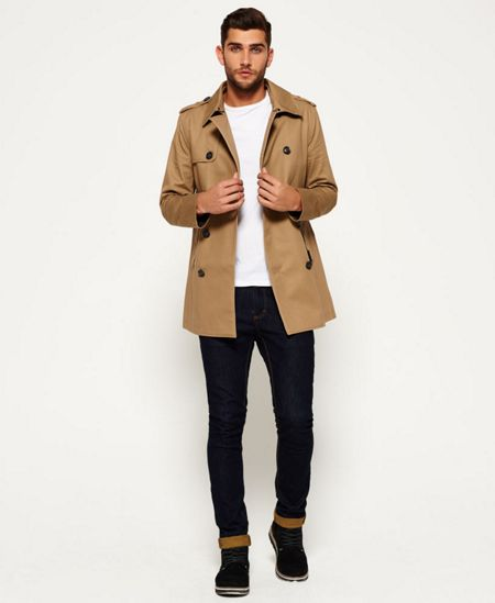 Superdry Rogue Trench Coat