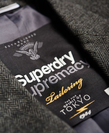 Superdry Supremacy Fine Herringbone Blazer